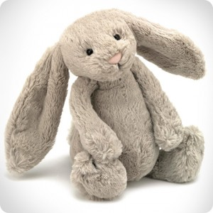 Doudou lapin beige Bashful