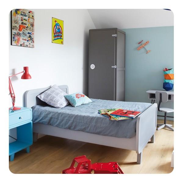 Kit volutif lit rond 150cm laurette for Laurette meubles