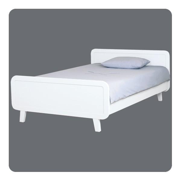 lit rond 120x200cm laurette. Black Bedroom Furniture Sets. Home Design Ideas