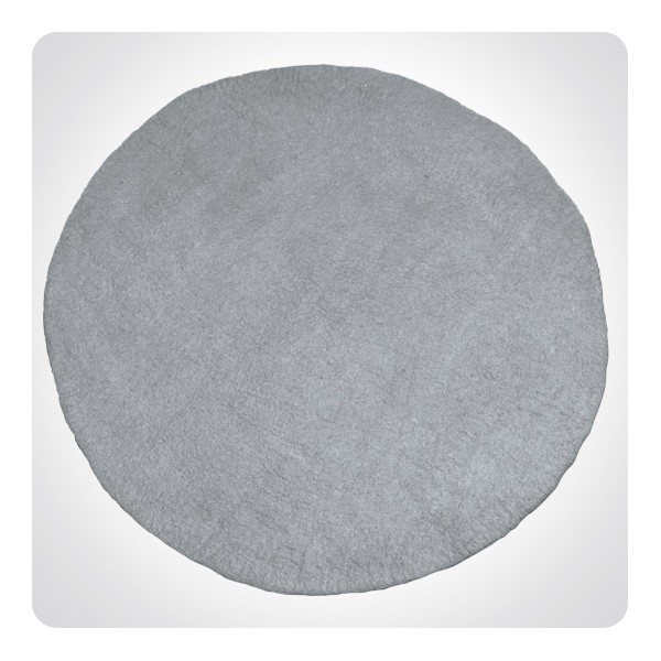 tapis rond gris. Black Bedroom Furniture Sets. Home Design Ideas