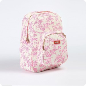 Mini sac à dos Jouy rose