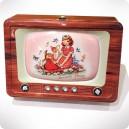 Vintage TV Tin