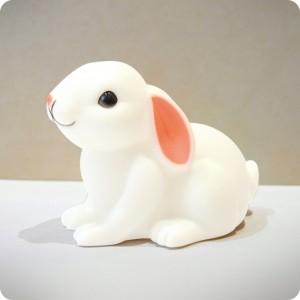 Rabbit sitting down night-light