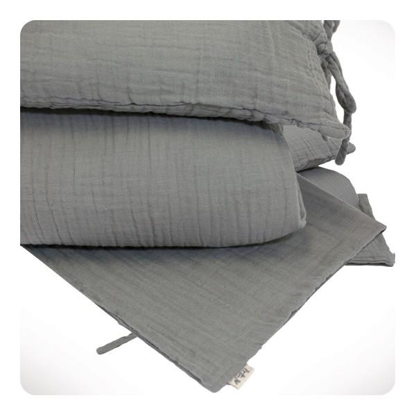 parure de lit 140x200 cm laurette. Black Bedroom Furniture Sets. Home Design Ideas