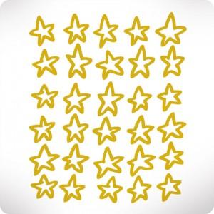 Basic gold stars