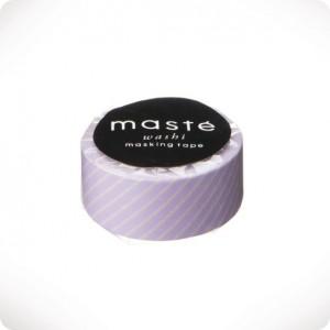 Masking tape Lavender stripes