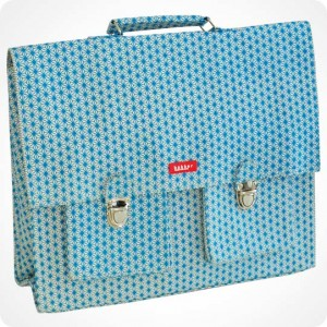Large satchel with shoulder straps