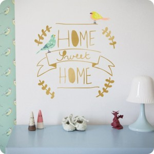 Sticker Sweet home