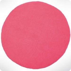 Tapis Rond Ultra Rose Diam 120cm Laurette