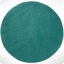 Tapis rond turquoise pastel diam 120cm