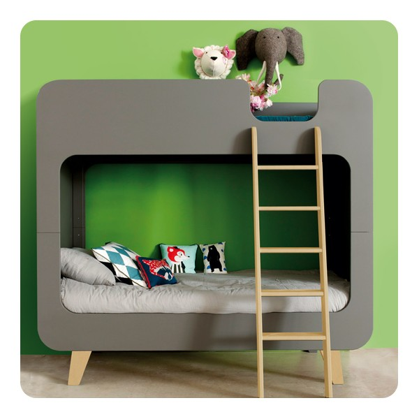 lit superpos pile ou face laurette. Black Bedroom Furniture Sets. Home Design Ideas