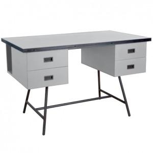 Bureau L50 gris