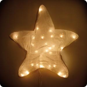 Applique murale étoile S