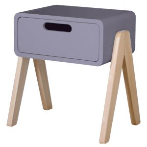 Chevet Petit Robot bois & violette