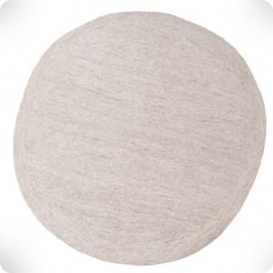 Tapis rond pierre clair diam 120cm