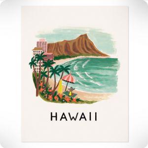 Affiche Hawaï