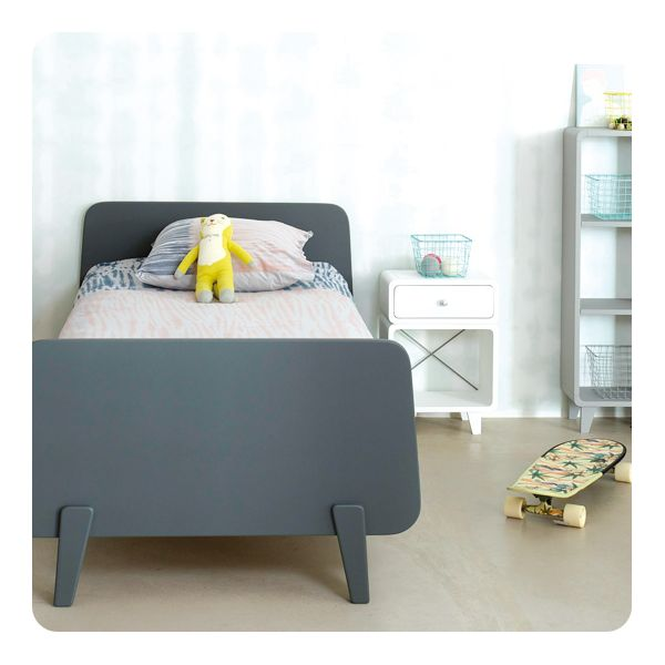 lit mm 90 x 190 cm laurette. Black Bedroom Furniture Sets. Home Design Ideas