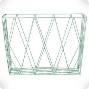 Panier rectangle mint