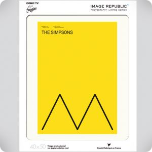 Affiche Exergian TV the Simpsons