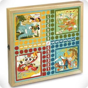 Game wooden box