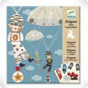 Jeu de Kirigami parachute