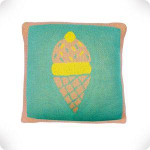 Ice cream cushion