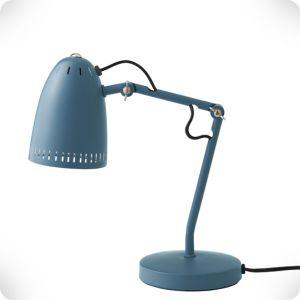 Lampe de bureau Dynamo bleue