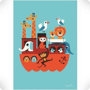 Affiche Arche de Noé