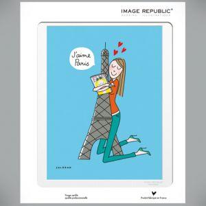 Affiche Soledad Tour Eiffel
