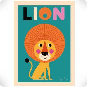 Affiche The lion