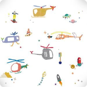 Air traffic stickers