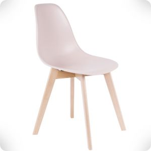 Elementary pink chair