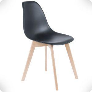 Chaise elementary noir