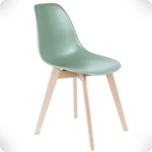 Elementary jade chair