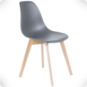 Chaise elementary gris