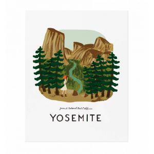 Affiche Yosémite