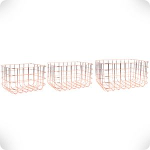 Set 3 storage basket