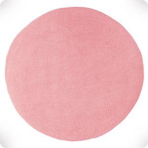 indian pink round rug, diam. 120 cm