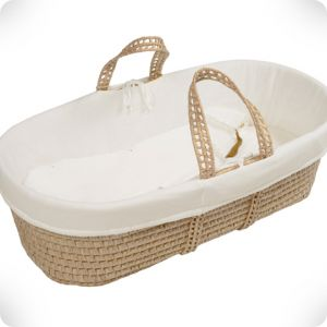 Moses basket natural