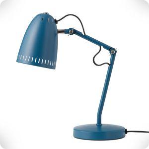 Lampe de bureau Dynamo petrol matt