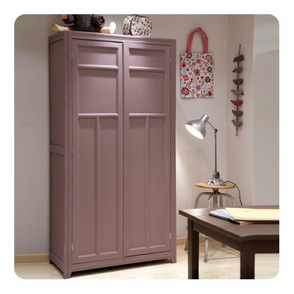 armoire parisienne laurette. Black Bedroom Furniture Sets. Home Design Ideas