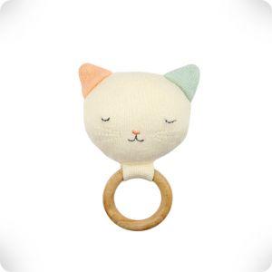 Hochet anneau en bois