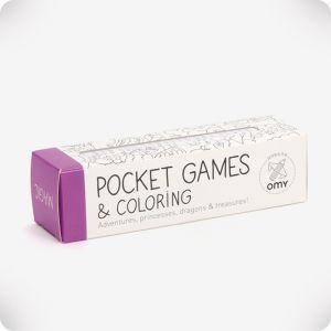 Jeu de poche à colorier