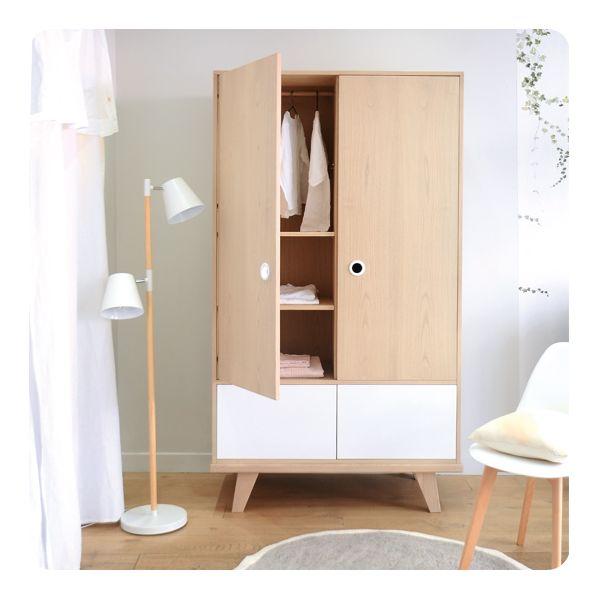 Armoire zen by laurette laurette - Laurette meubles ...