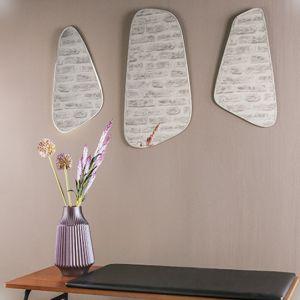 Set de 3 miroirs