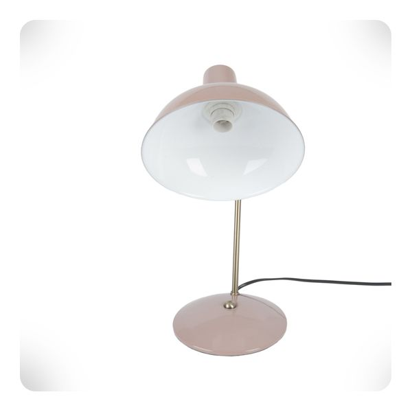 Lampe De Bureau Hood Rose Poudre Laurette