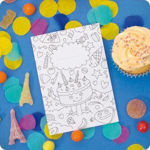 invitation birthday card