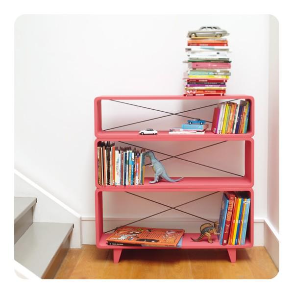 Biblioth que millefeuille laurette for Laurette meubles