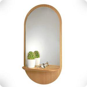 Miroir en chêne