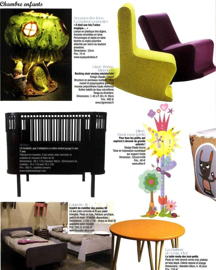 Presse laurette for Journal decoration maison